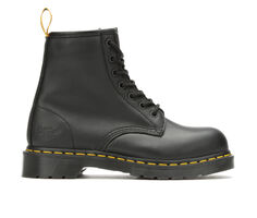 Women's Dr. Martens Industrial Maple Steel Toe Work Shoes