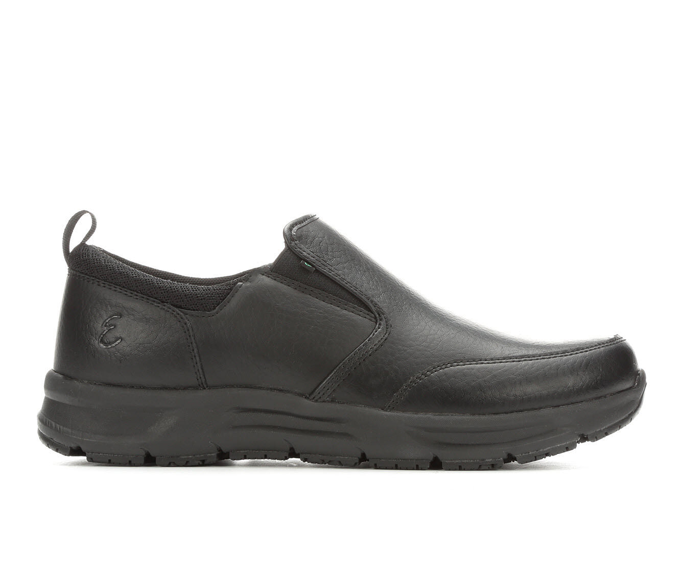 Men's Emeril Lagasse Quarter Slip On Safety Shoes Black