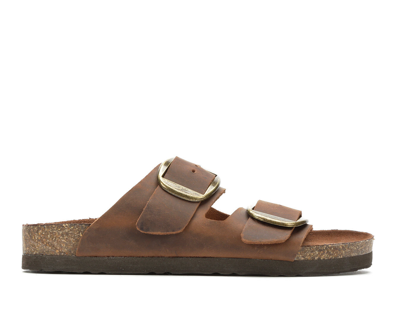 The Lowest Price Women's White Mountain Harlow Footbed Sandals Brown