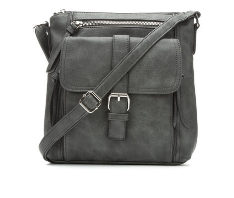 Bueno Of California Crossbody with Buckle & Zip