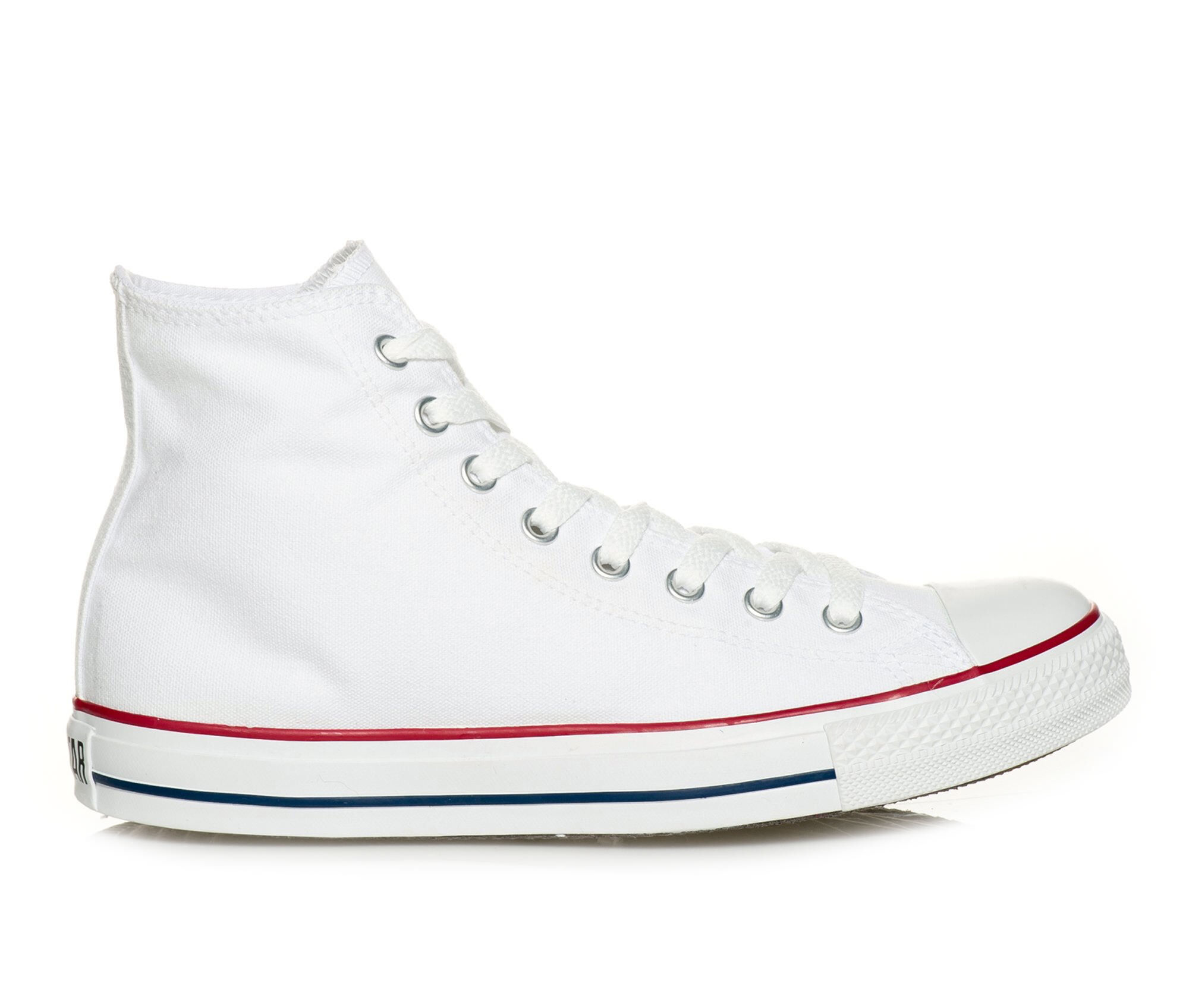 Adults' Converse Chuck Taylor All Star Canvas Hi High Top Sneakers Opt White