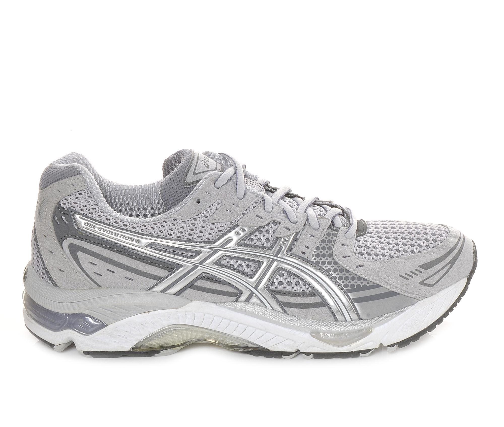 Men's ASICS Gel Evolution 6 Running Shoes Grey