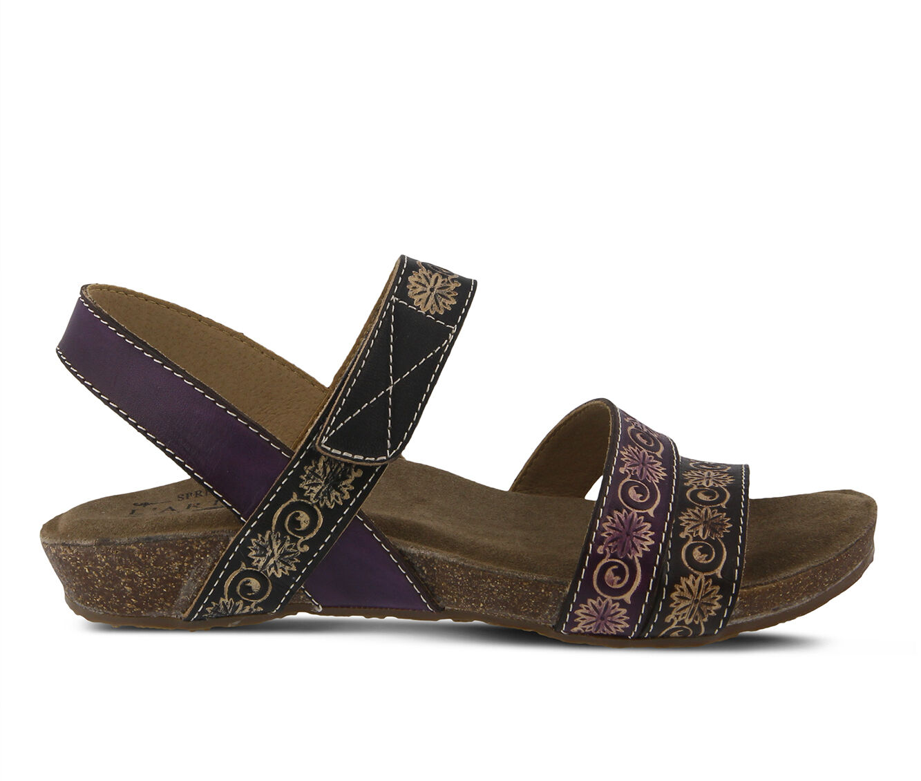 Women's L'ARTISTE Paldina Sandals Purple Multi