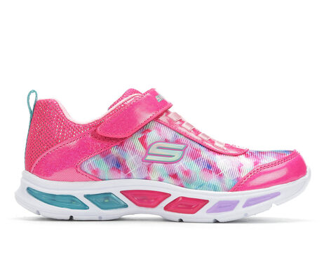 Girls' Skechers Litebeams - Colorburst 10.5-3 Light-Up Shoes