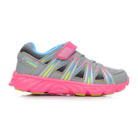 Girls' Fila Infant Crater 7 Strap Girls 5-10 Athletic Shoes