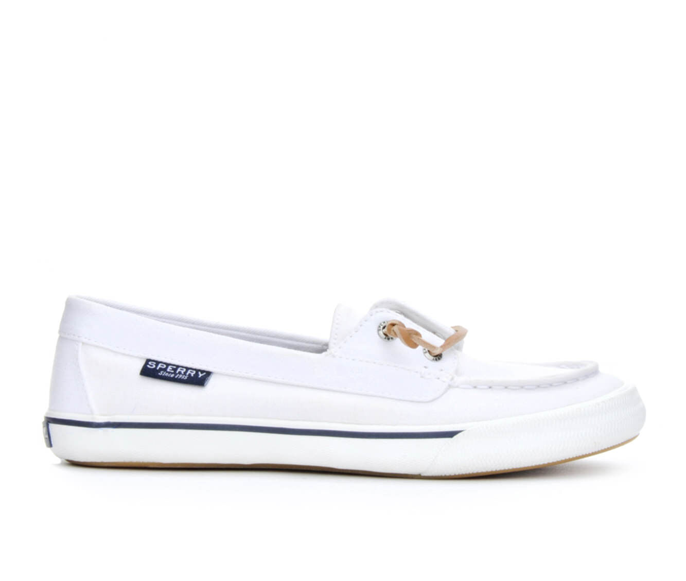 Women's Sperry Lounge Away Boat Shoes White