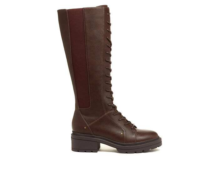 Women's Rocket Dog Issa Lace-Up Knee High Boots