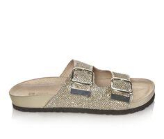 Women's White Mountain Horizon Footbed Sandals