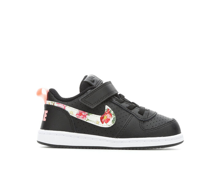 Girls' Nike Infant & Toddler Court Borough Low Athletic Shoes
