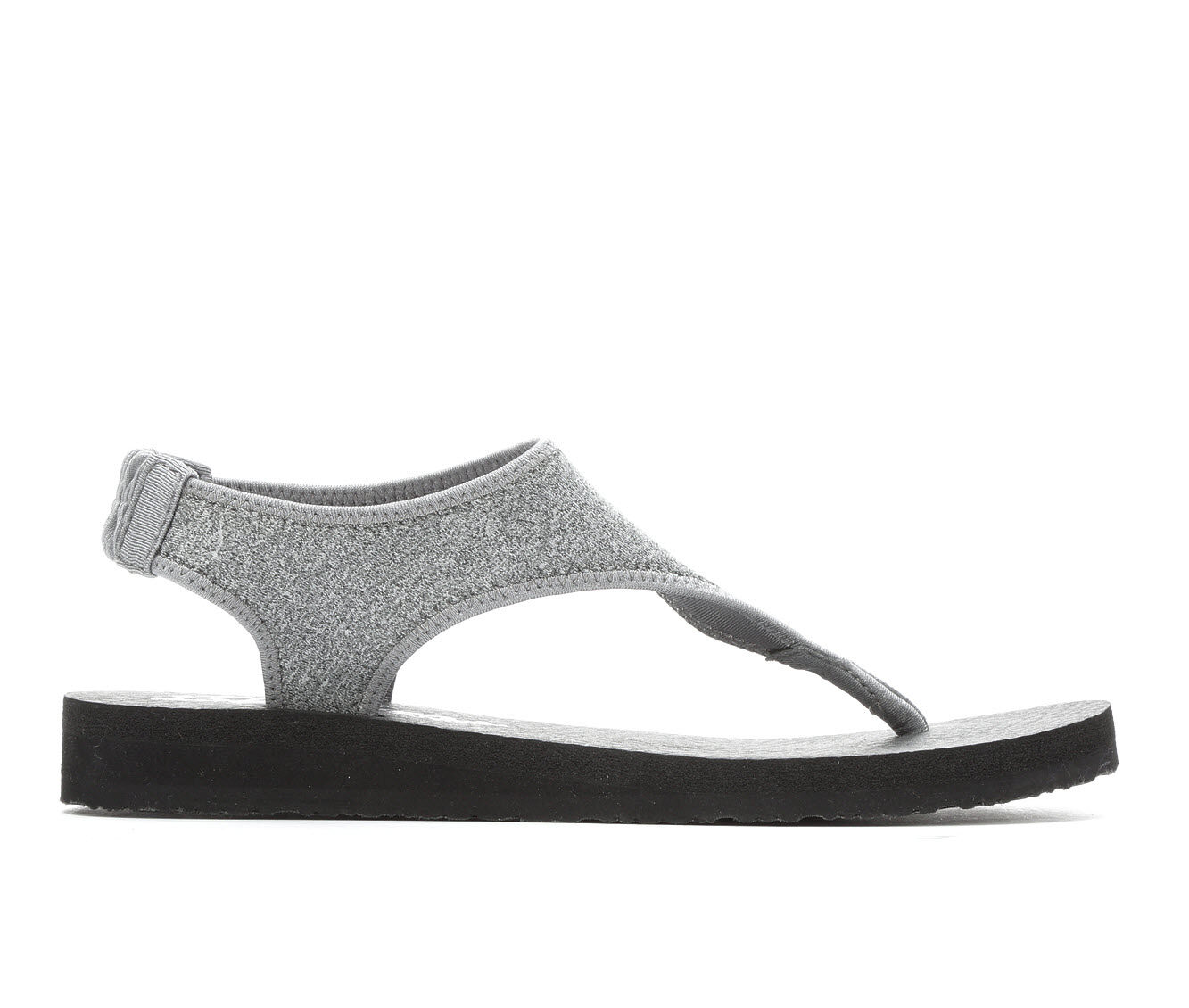 Women's Skechers Cali Meditation Flow Nat Sandals Grey