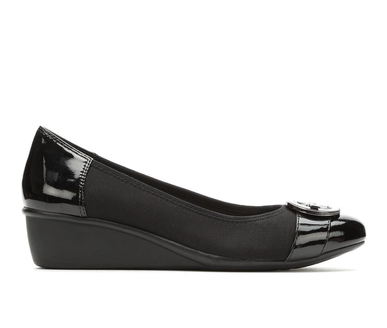 purchase cheapr Women's Anne Klein Sport Decklyn Wedge Heels Black