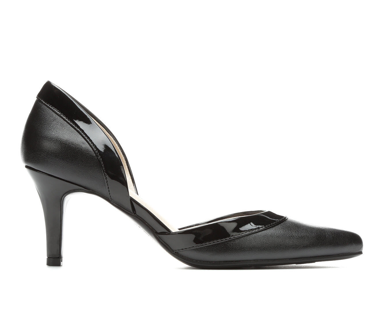 latest style Women's LifeStride Saldana Pumps Black Patent