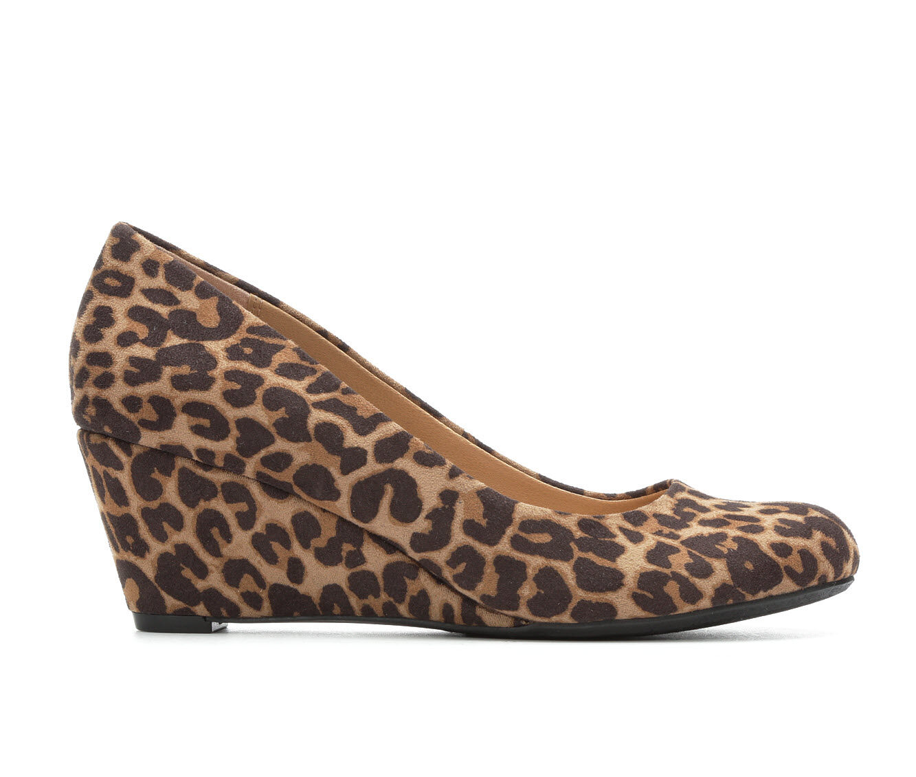Women's David Aaron Traci Wedges Leopard