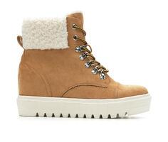 Women's Madden Girl Trickiee Wedge Sneaker Booties