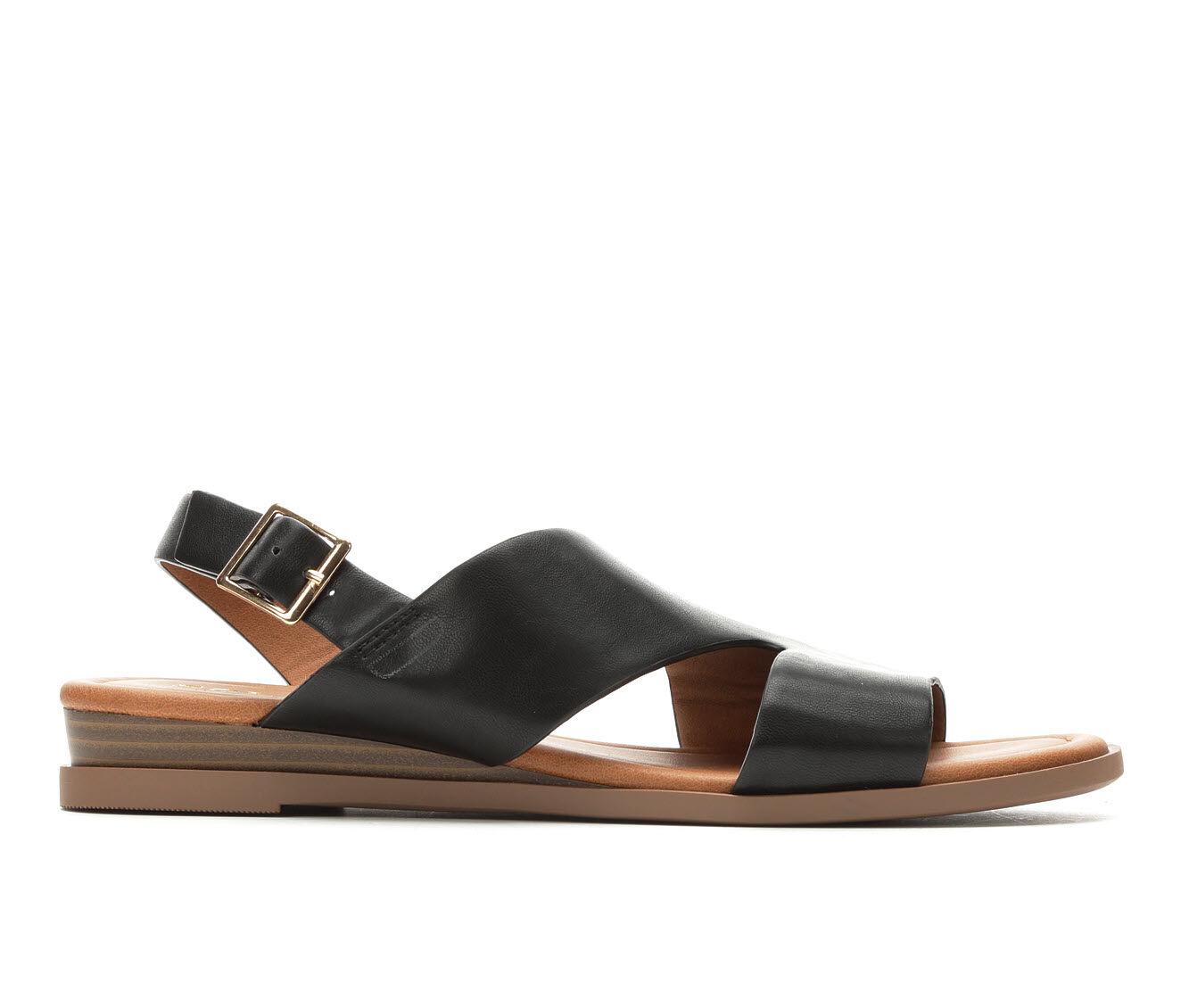 Superior Quality Women's Solanz Brooklyn Sandals Black Throne