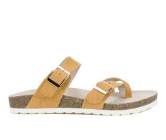 Women's White Mountain Gracie Footbed Sandals