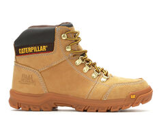 Men's Caterpillar Outline Soft Toe Work Boots