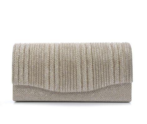 Four Seasons Handbags Small Vertical Stripe Clutch