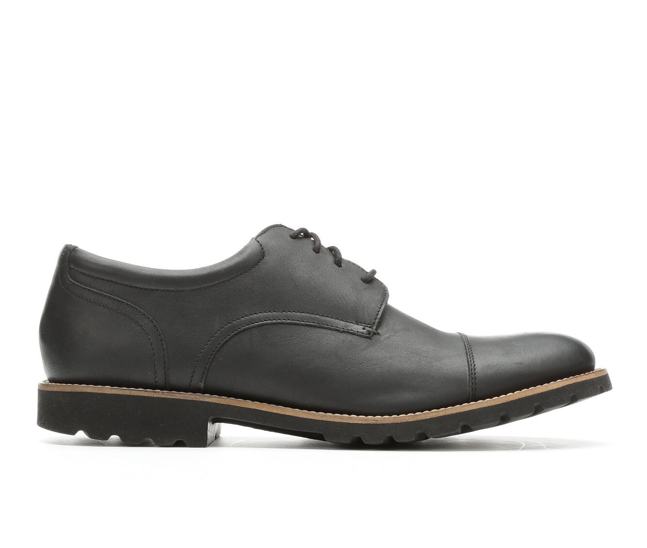 Men's Rockport Modern Break Cap Toe Oxfords Black