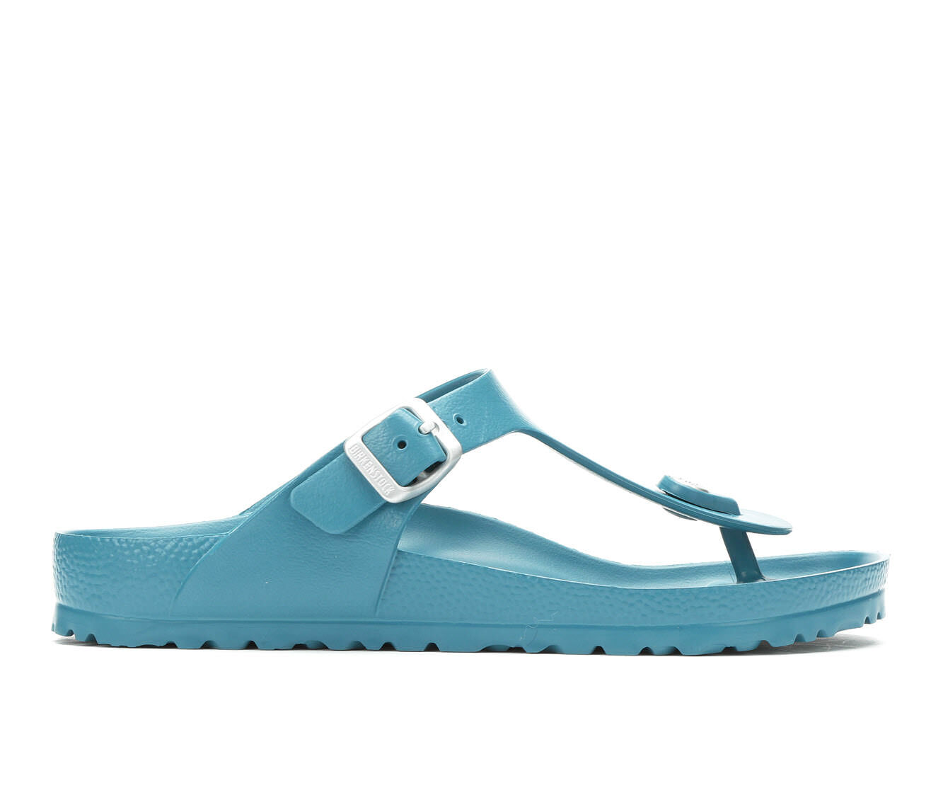 Women's Birkenstock Gizeh Essentials Footbed Sandals Turquoise