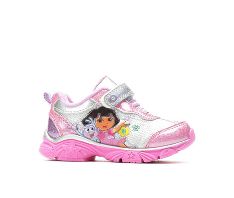 Girls' Nickelodeon Dora 4 6-12 Light-Up Shoes