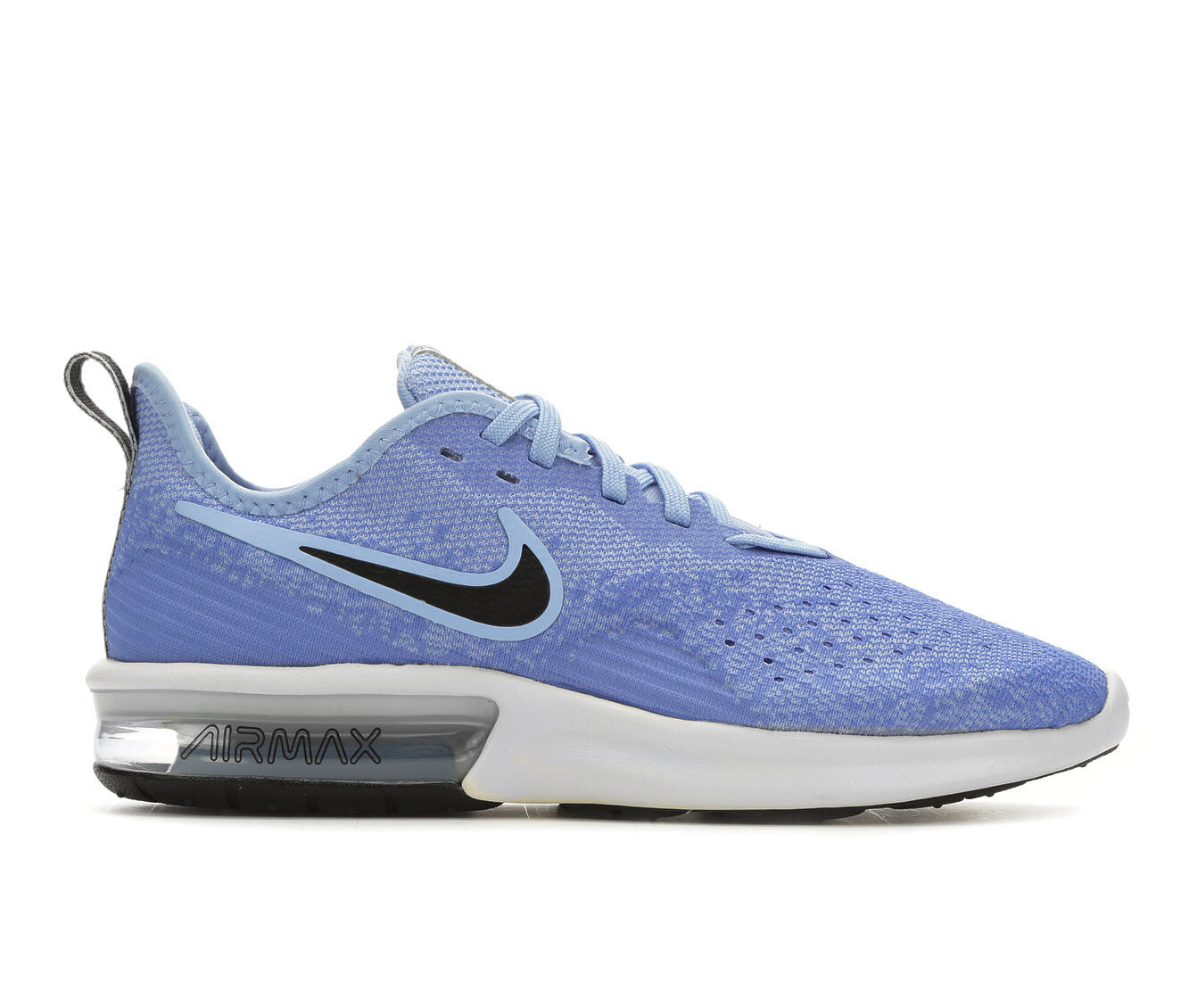 Women's Nike Air Max Sequent 4 Running Shoes Blue/Black/Wht
