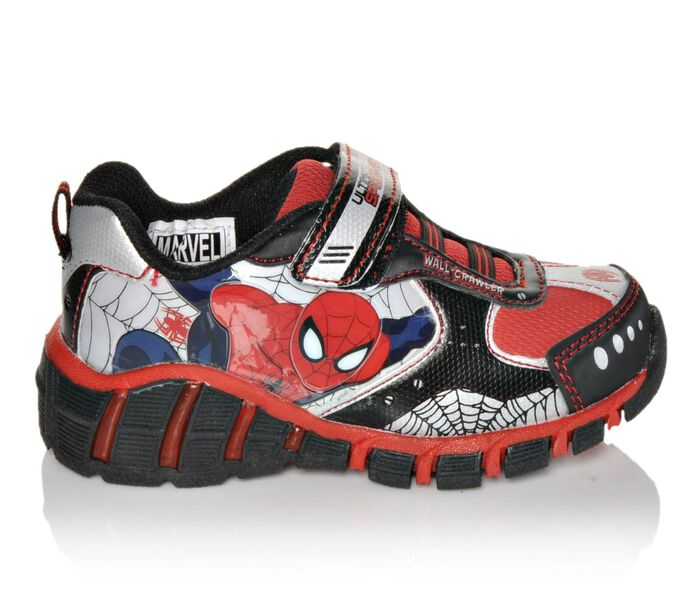 Boys' Marvel Lighted Spiderman 7-12 Shoes