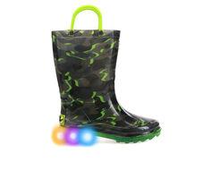 Western Chief Infant Surf Camo Lighted Rain Boot 5-10 Rain Boots