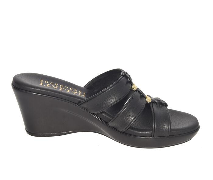 Women's Italian Shoemakers Avis Wedges