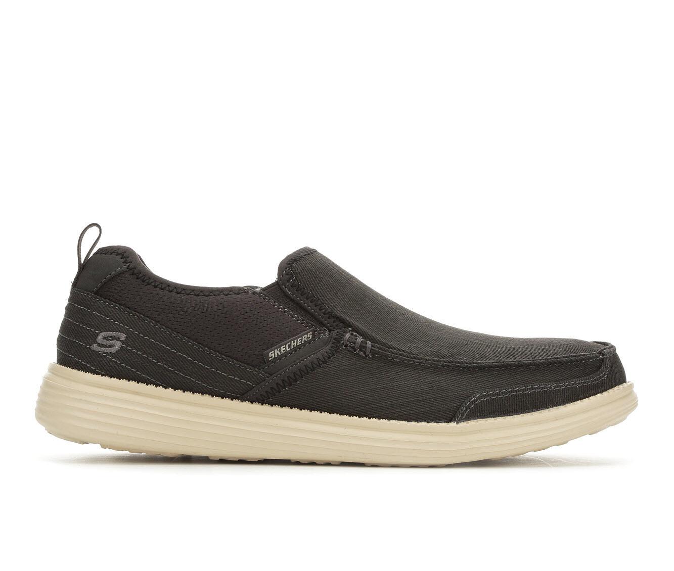 Men's Skechers Delton 65751 Casual Shoes Black