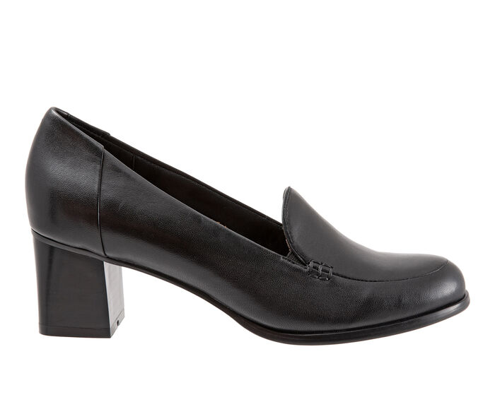 Women's Trotters Quincy Heeled Loafers
