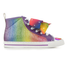 Girls' Nickelodeon Toddler & Little Kid & Big Kid JoJo Rhinestone Bow Sneakers
