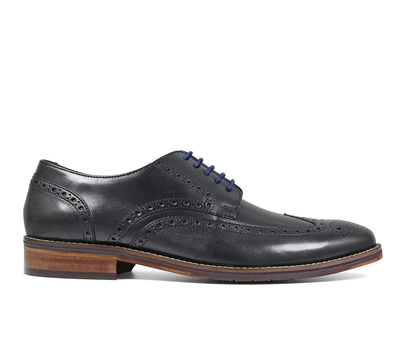 Best Buy Men's Florsheim Salerno Wing Tip Oxford Dress Shoes Black