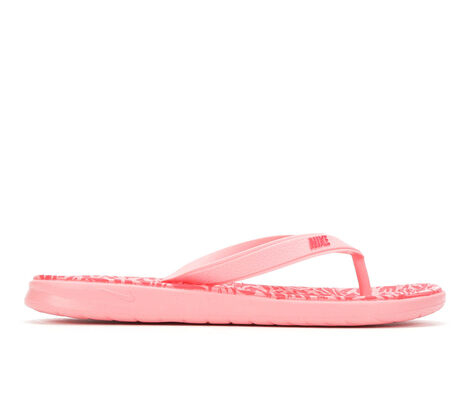 Girls' Nike Solay Thong Print G 11-7 Flip-Flops