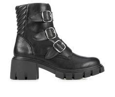 Women's Me Too Sloane Lugged Moto Boots