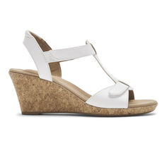 Women's Rockport Blanca T-Strap Wedge Sandals