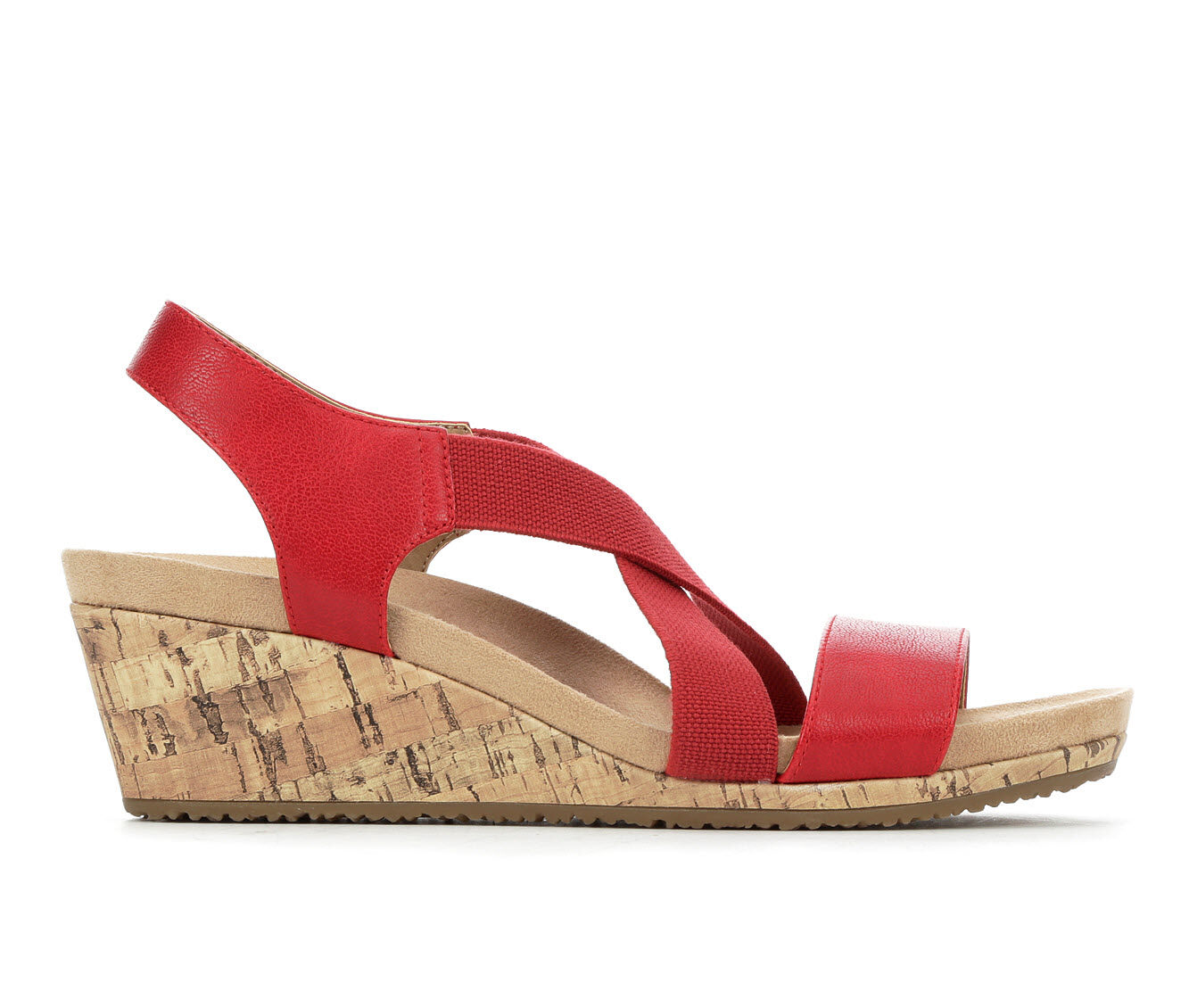 Women's LifeStride Mexico Wedges Red