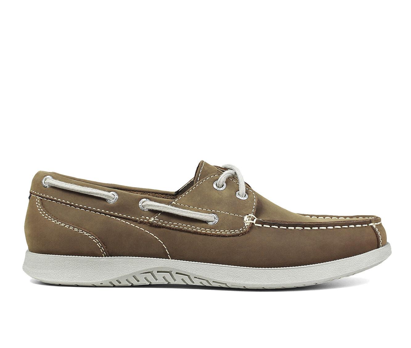 Men's Nunn Bush Bayside Lites Two-Eye Boat Shoes Tan