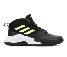 Boys' Adidas Little Kid & Big Kid Own the Game Wide Width Basketball Shoes