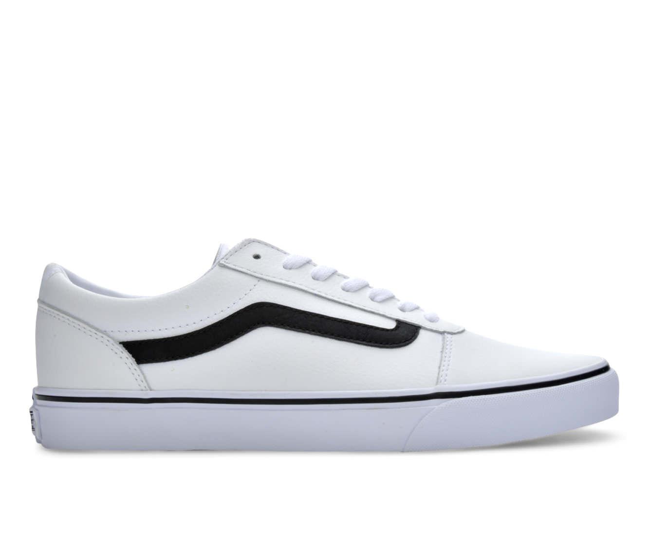vans white leather