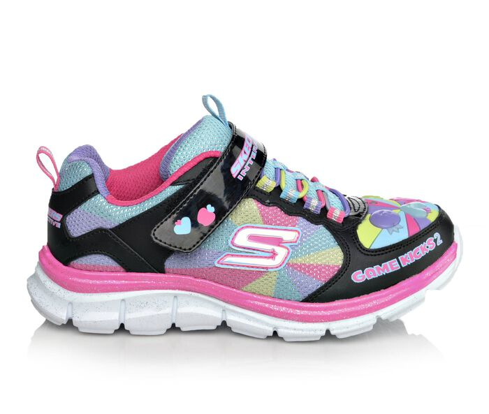 Girls' Skechers Game Kicks Juicy Smash 10.5-4 Light-Up Sneakers