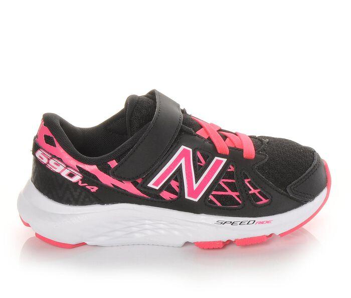 Girls' New Balance KV690PBP 10.5-3 Running Shoes