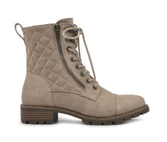Women's White Mountain Dashing Combat Boots