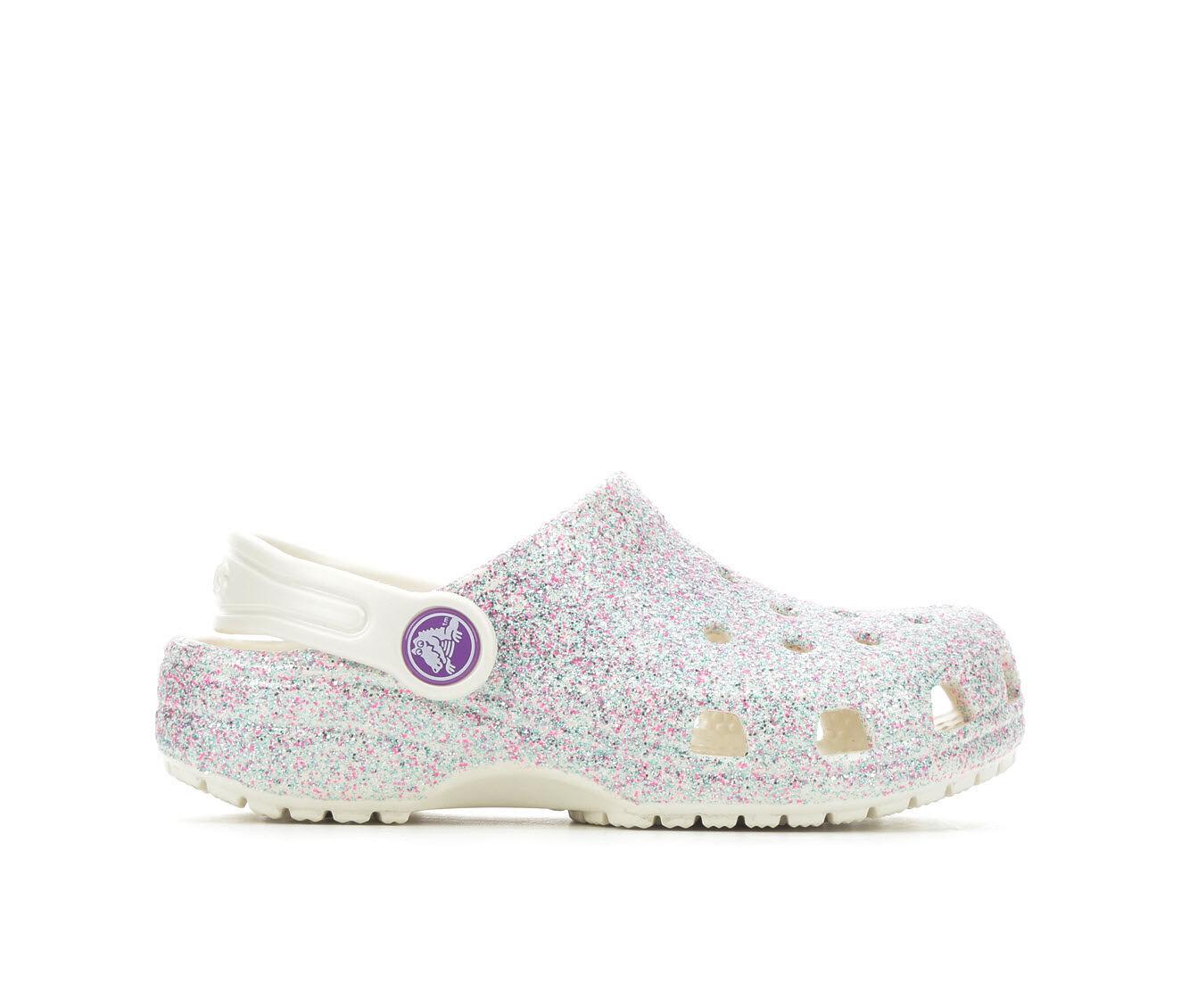 Girls' Crocs Little Kid Classic Glitter