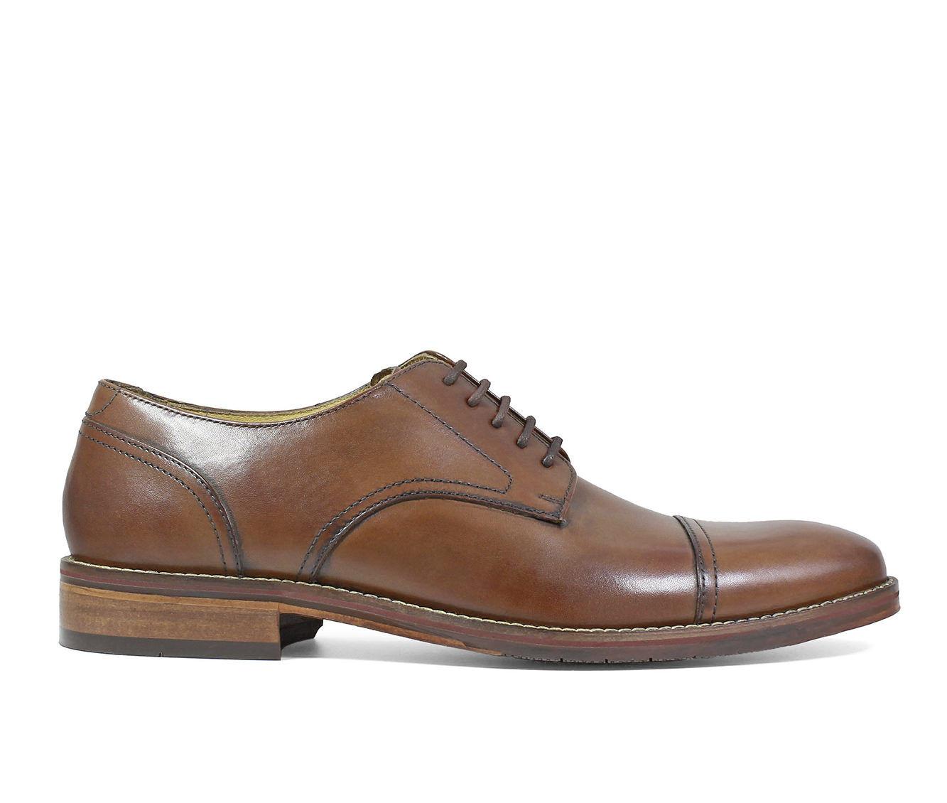 Men's Florsheim Salerno Cap Toe Oxford Dress Shoes Cognac