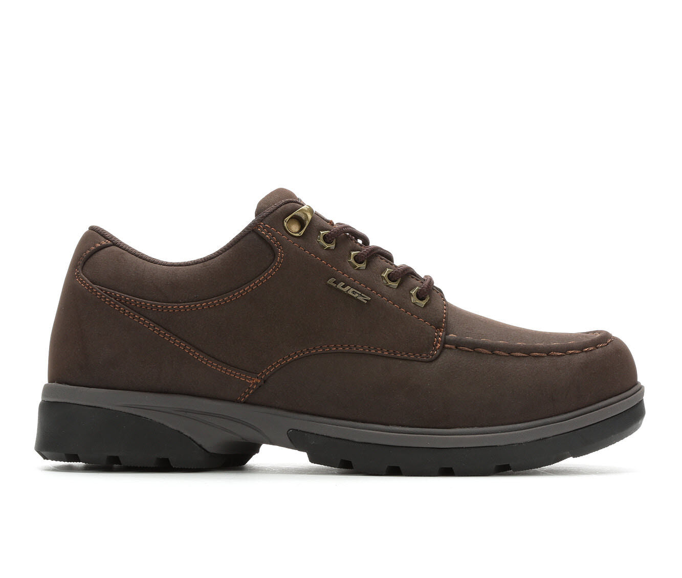 Men's Lugz Stack Lo Slip-Resistant Casual Boots Dk Brown/Br/Blk
