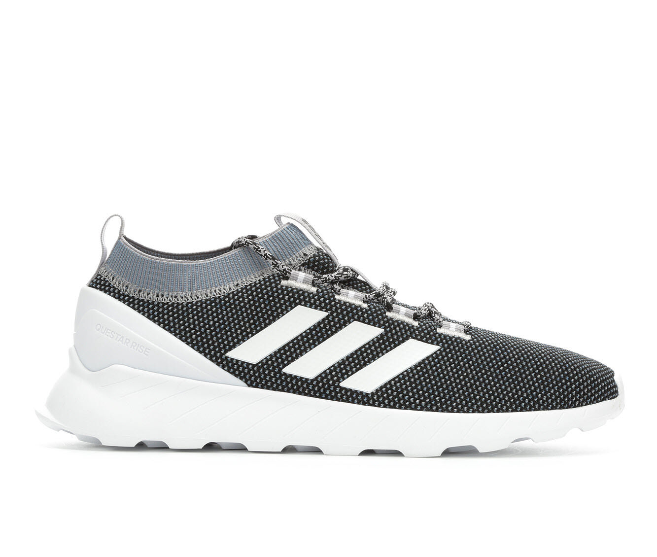 choose new style Men's Adidas Questar Rise Running Shoes Gry/Wht/Blk