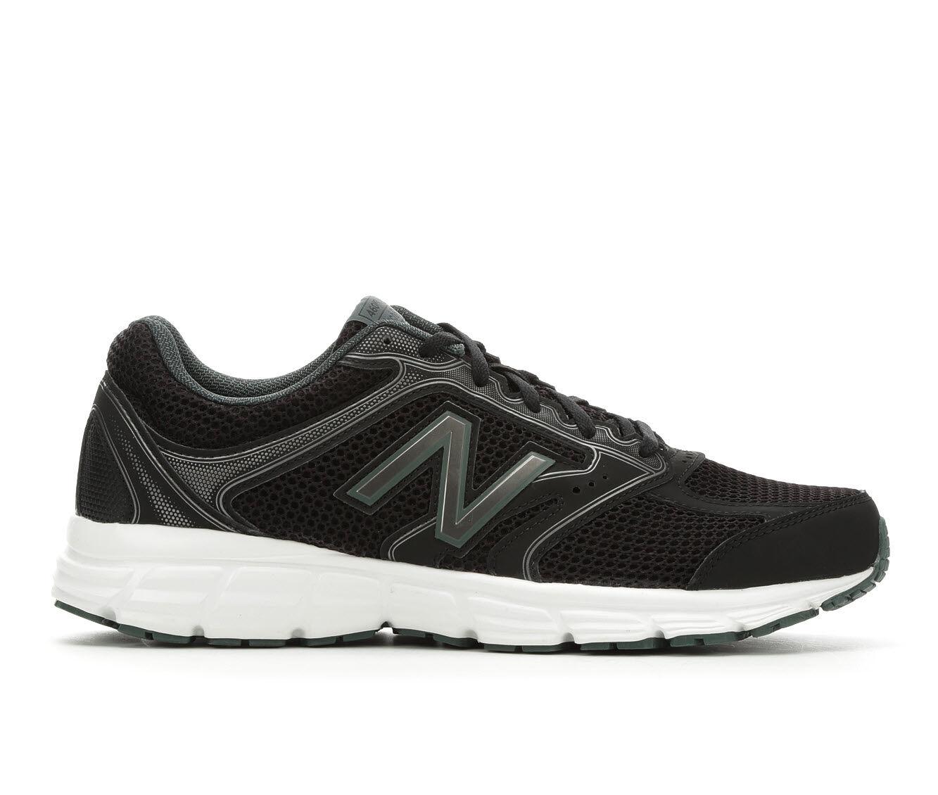 User-Friendly Design Men's New Balance M460V2 Running Shoes Blk/Wht/Grn