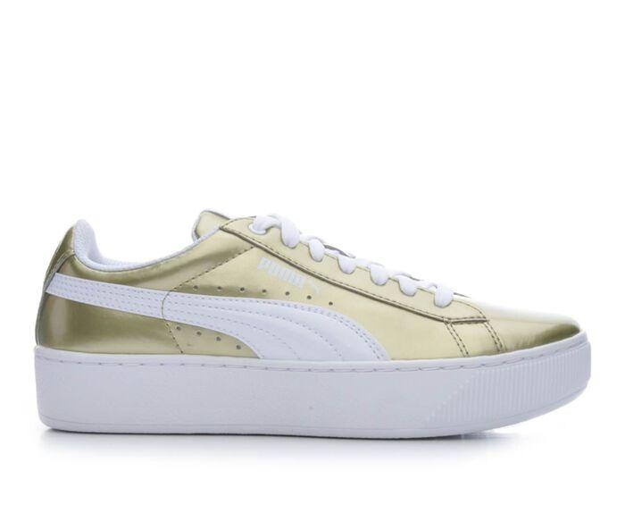Women's Puma Vikky Platform Metallic Sneakers
