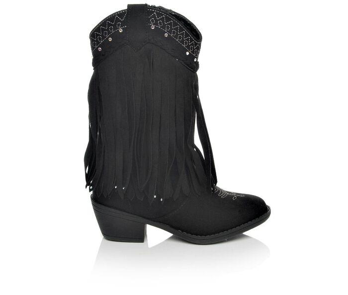 Girls' Paris Blues Saloon 11-5 Cowboy Boots